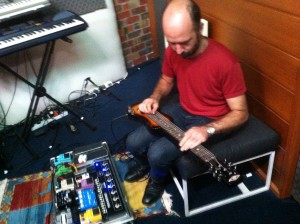 Matthew Shadwick layering sonic textures for The Memory Keys