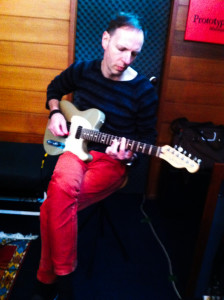Dallas with the Peter Foeden Telecaster - Meet You Once Again from sessions for The Memory Keys