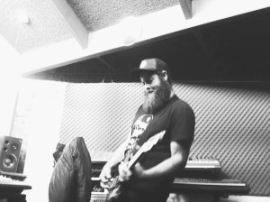 Wally Rankin (from Dr Keith Medicine Woman) lays down guitars/backing vox on The Memory Keys